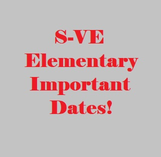 October Important Dates at the Elementary School