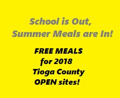 Free Meals for the Summer!